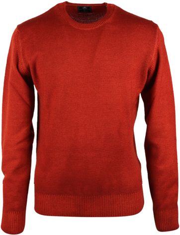 NZA Pullover Merino Wolle Brique