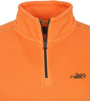 NZA Red Peak Pull Half Zip Orange