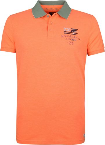 NZA Saxton Poloshirt Neon Orange
