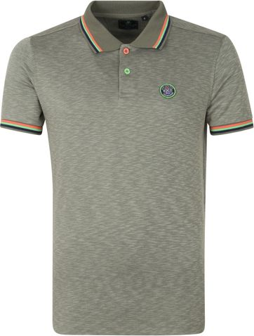 NZA Severn Polo Shirt Army Grün
