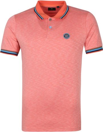 NZA Severn Polo Shirt Orange