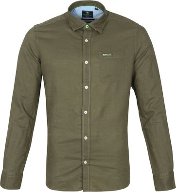 NZA Shirt Edward Dark Green