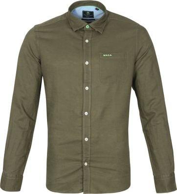 NZA Shirt Edward Dark Green