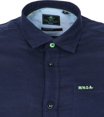 NZA Shirt Edward Navy