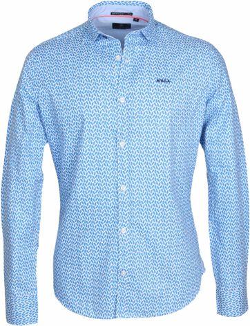 NZA Shirt Jasper Blue Print