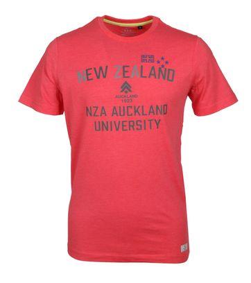 NZA Shirt Logo Rot
