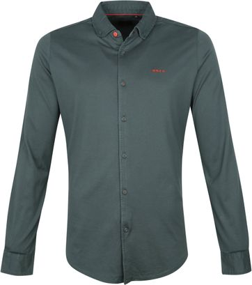 NZA Shirt Pakuratahi Dark Green