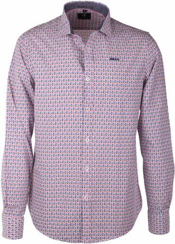 NZA Shirt Pink Print 16AN542