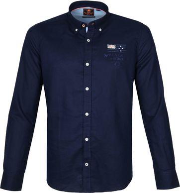 NZA Shirt Rakaia Dark Blue
