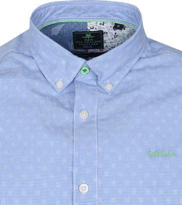 NZA Shirt Short Sleeve Rere Light Blue