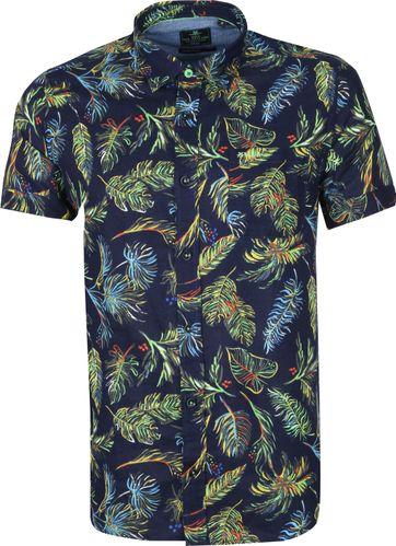 NZA Shirt Short Sleeve Waiotauru Multicolour