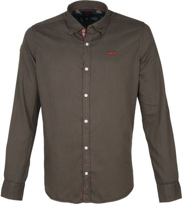 NZA Shirt Tapuaeroa Dark Green
