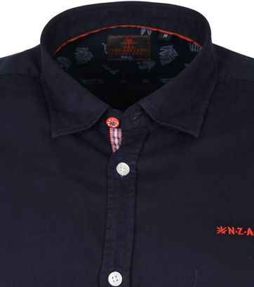 NZA Shirt Tapuaeroa Navy