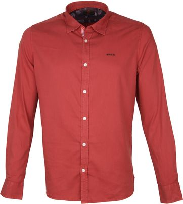 NZA Shirt Tapuaeroa Red
