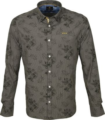 NZA Shirt Waikoau Dark Green