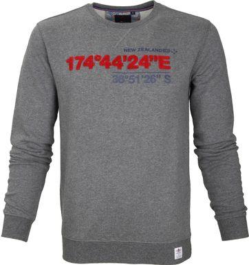 NZA Sweater Grijs Print