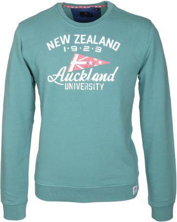 Detail NZA Sweater Groen