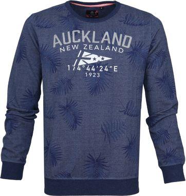 NZA Sweater Tahakopa Blau