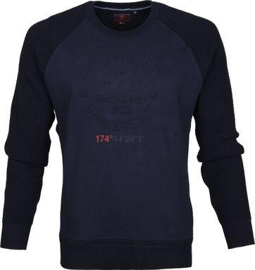 NZA Sweater Wairewa Dunkelblau