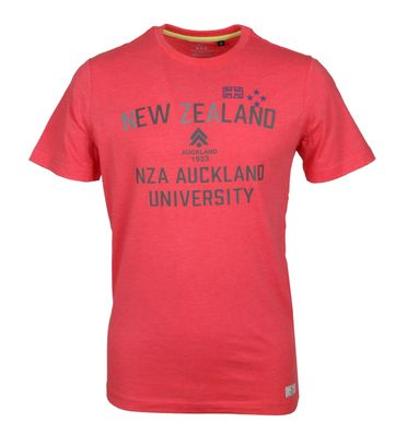 NZA T-Shirt Logo Rood