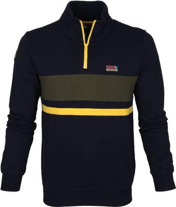 NZA Tauherenikau Sweater Dunkelblau