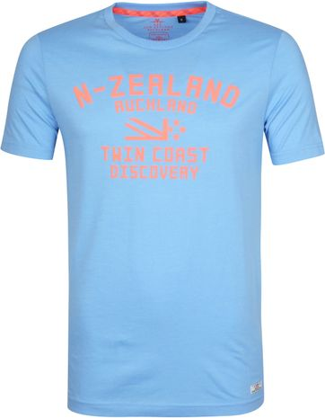 NZA Tauranga T-Shirt Light Blue