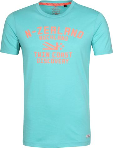 NZA Tauranga T-Shirt Ocean Blue