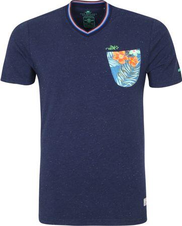 NZA Te Arai T-shirt Donkerblauw