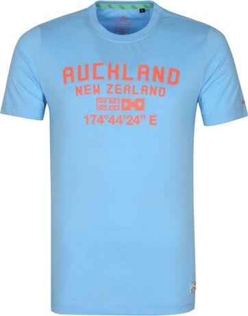 NZA Te Au T Shirt Blau