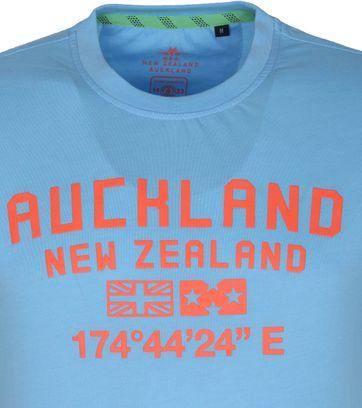 NZA Te Au T Shirt Blue