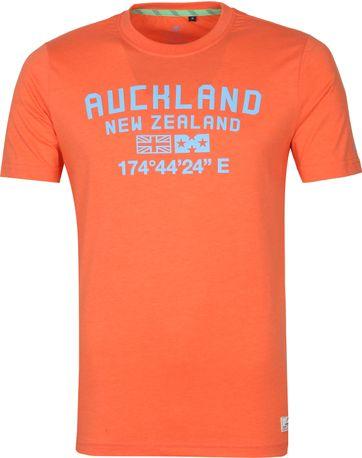 NZA Te Au T Shirt Orange
