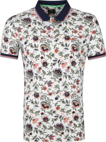 NZA Te Matahi Polo Shirt Ecru