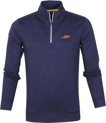 NZA Te Paeroa Pullover Half Zip Navy