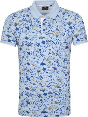 NZA Teviot Poloshirt Hellblau