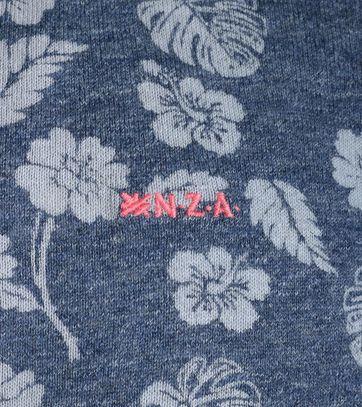 Detail NZA Trui Blauwe Print 17AN473