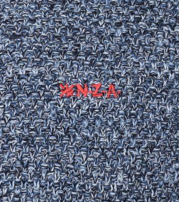 Detail NZA Trui Waikaka Blauw