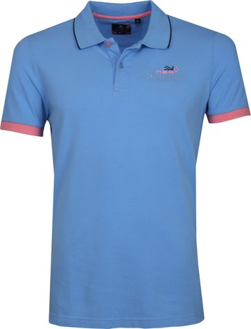NZA Wahapo Poloshirt Blau