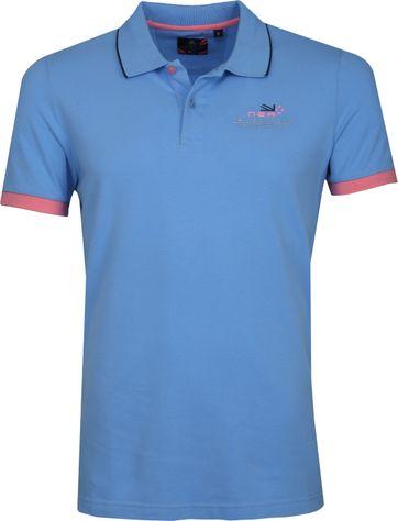NZA Wahapo Poloshirt Blue