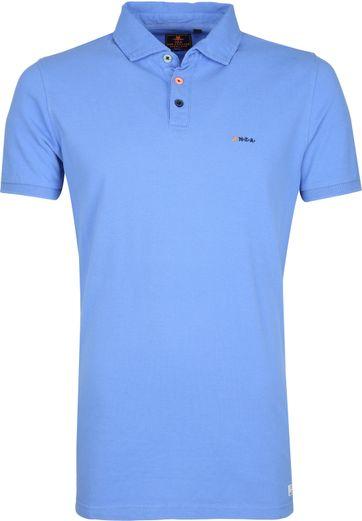 NZA Waiapu Poloshirt Blau