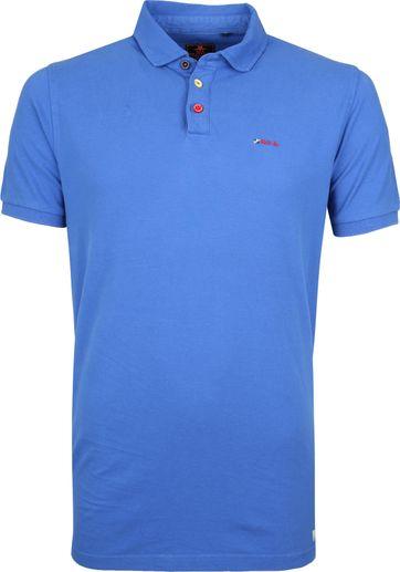 NZA Waiapu Poloshirt Blue 260