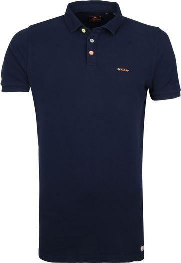 NZA Waiapu Poloshirt Donkerblauw