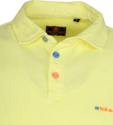 NZA Waiapu Poloshirt Geel