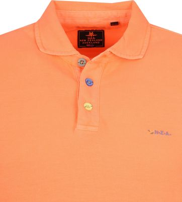 NZA Waiapu Poloshirt Neon Oranje