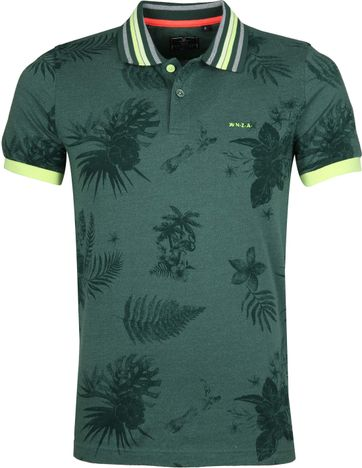 NZA Waiatoto Poloshirt Green