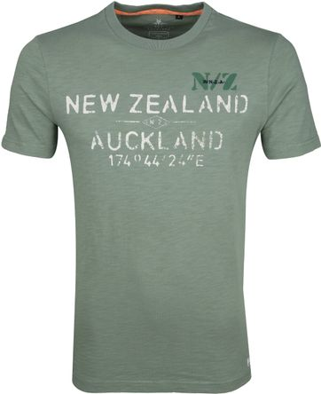 NZA Waiaua T-shirt Green