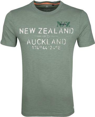 NZA Waiaua T-shirt Grün