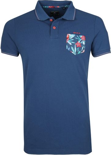 NZA Waikaia Poloshirt Dark Blue