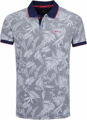 NZA Waikoura Poloshirt Grau