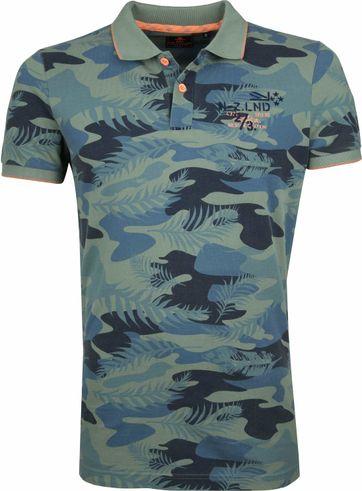 NZA Waioneke Poloshirt Grün
