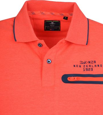 NZA Waipaoa Poloshirt Orange